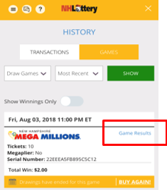 masslottery.com lucky for life winning serial numbers
