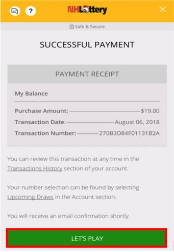 c2d34315711 Confirmation of successful payment.