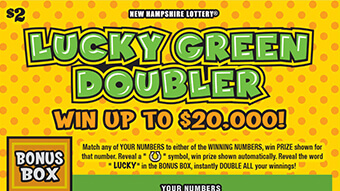 Scratch Tickets   New Hampshire Lottery