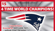 $5 Patriots Scratch Ticket Second Chance Drawing Winners