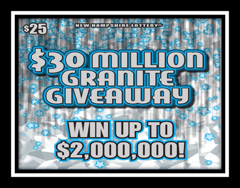 $30 Million Granite Giveaway Preliminary Second Chance Drawing to